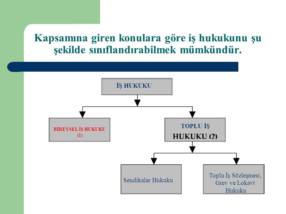 BİREYSEL İŞHUKUKU (1) Toplu İşSözleşmesi, Grevve Lokavt HukukuSendikalarHukuku.
