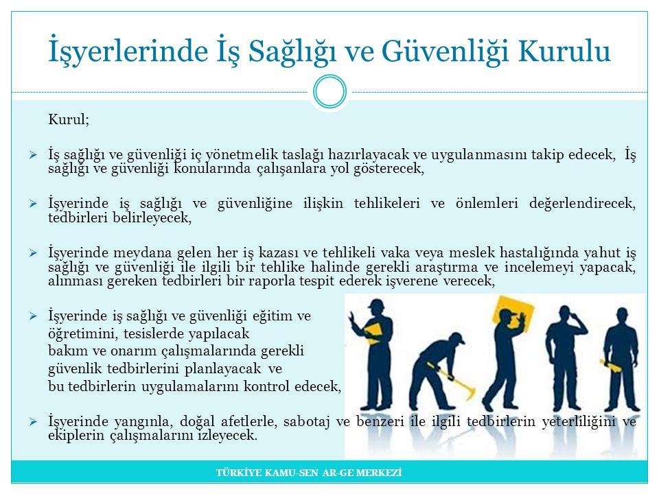 İşyerlerinde İş Sağlığı ve Güvenliği Kurulu