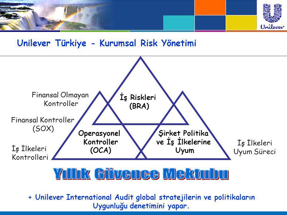 Unilever Türkiye - Kurumsal Risk Yönetimi