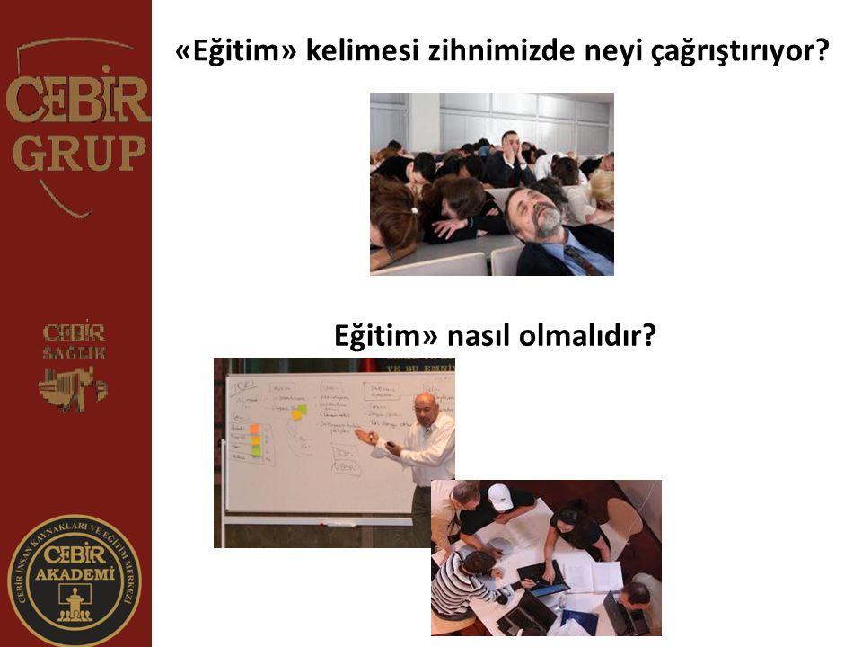 «Eğitim» kelimesi zihnimizde neyi çağrıştırıyor