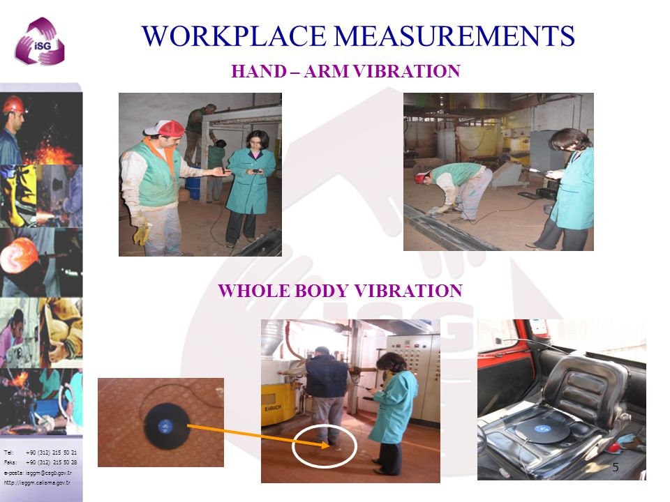 WORKPLACE MEASUREMENTS