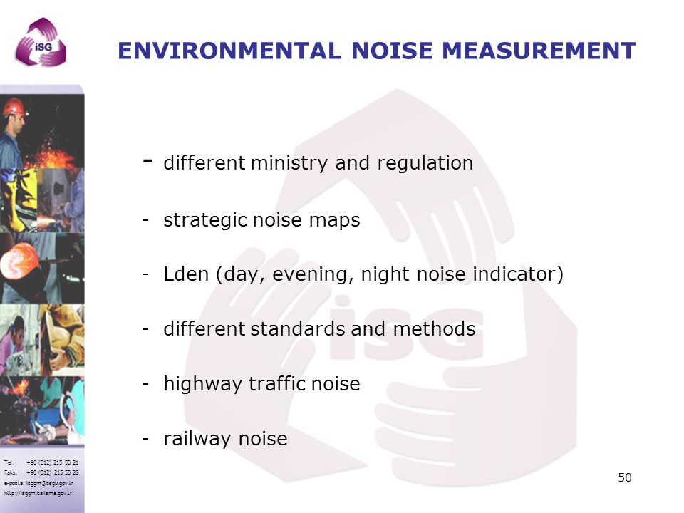 ENVIRONMENTAL NOISE MEASUREMENT