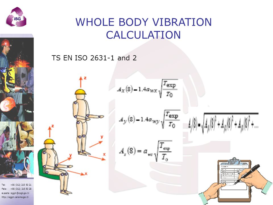 WHOLE BODY VIBRATION CALCULATION