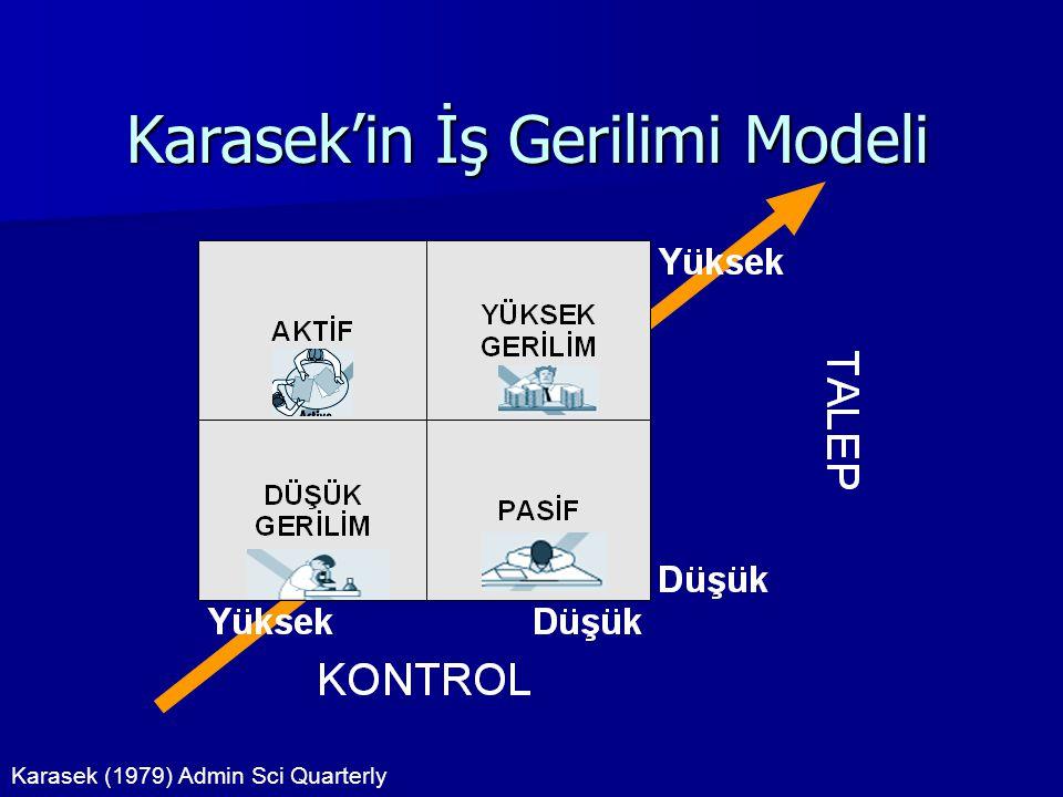 Karasek'in İş Gerilimi Modeli