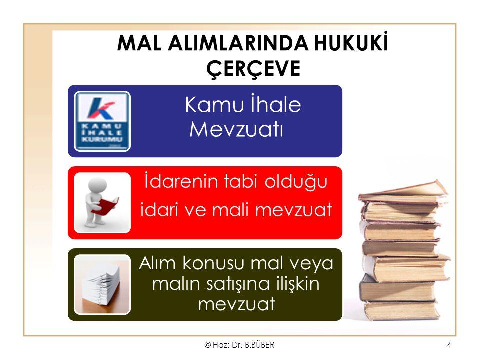 MAL ALIMLARINDA HUKUKİ ÇERÇEVE