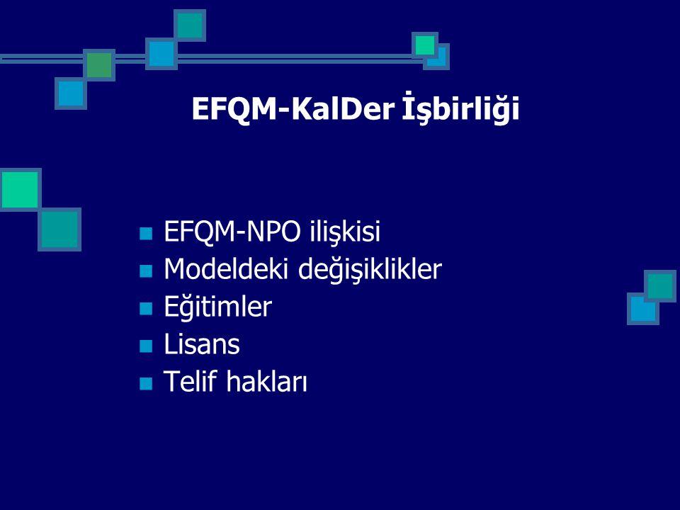 EFQM-KalDer İşbirliği