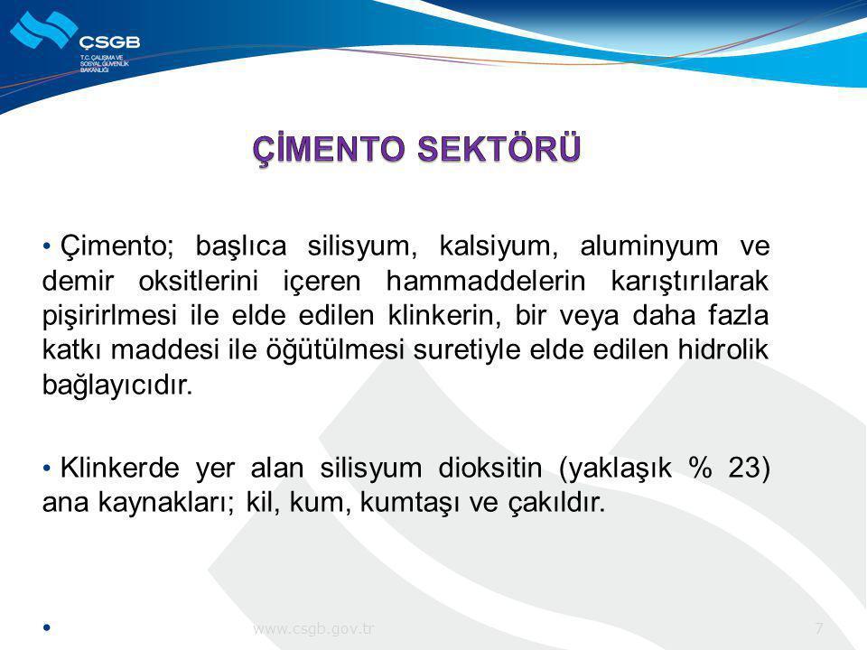 ÇİMENTO SEKTÖRÜ