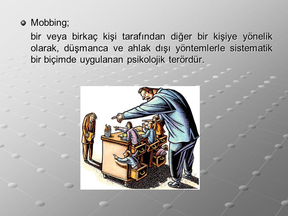 Mobbing;