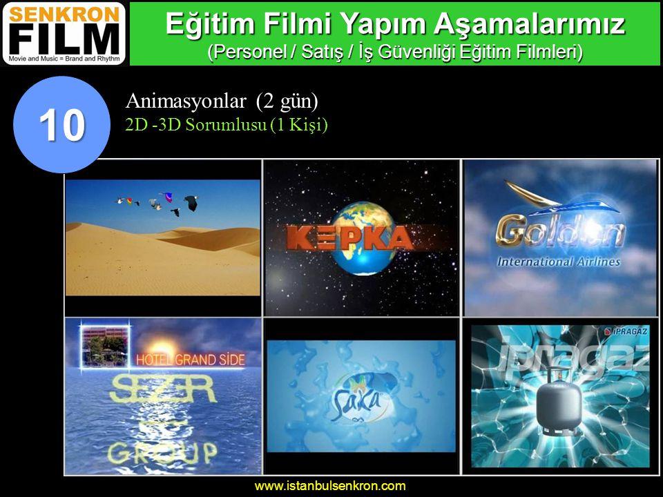 Eğitim Filmi Yapım Aşamalarımız (Personel / Satış / İş Güvenliği Eğitim Filmleri)