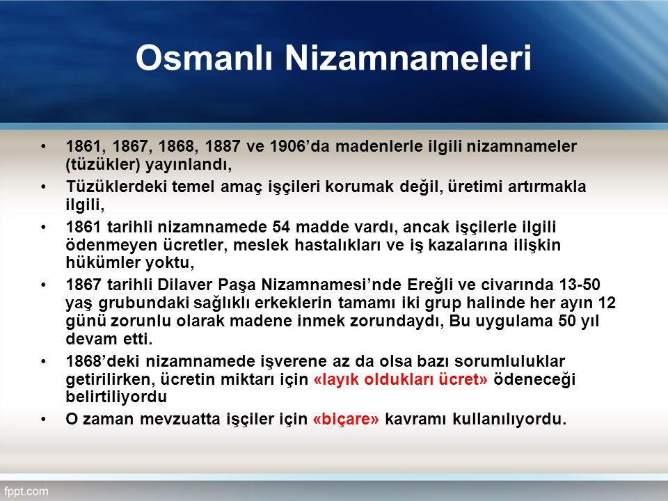 Osmanlı Nizamnameleri