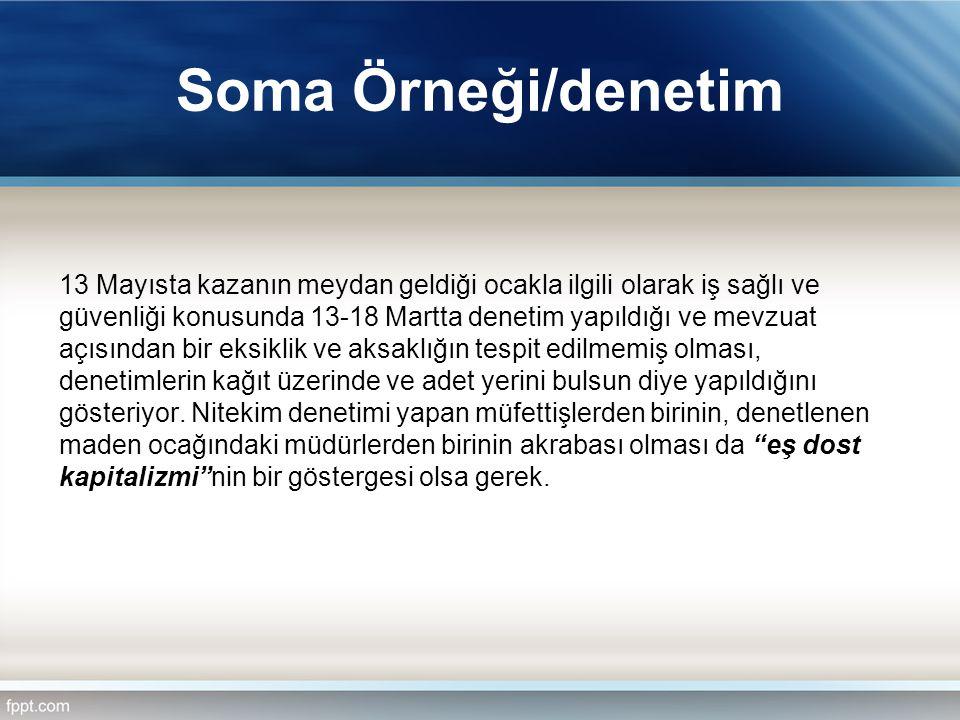 Soma Örneği/denetim