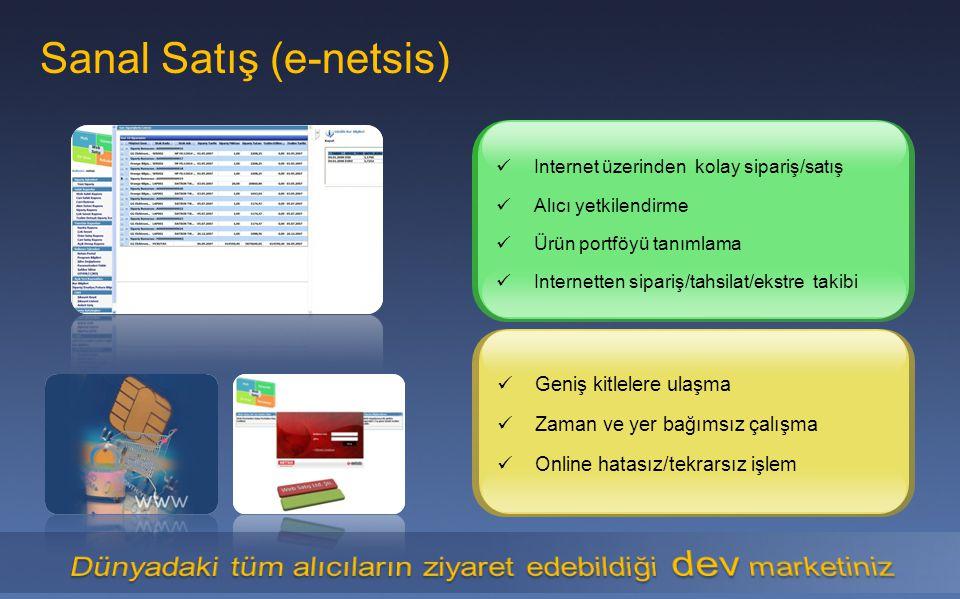 Sanal Satış (e-netsis)