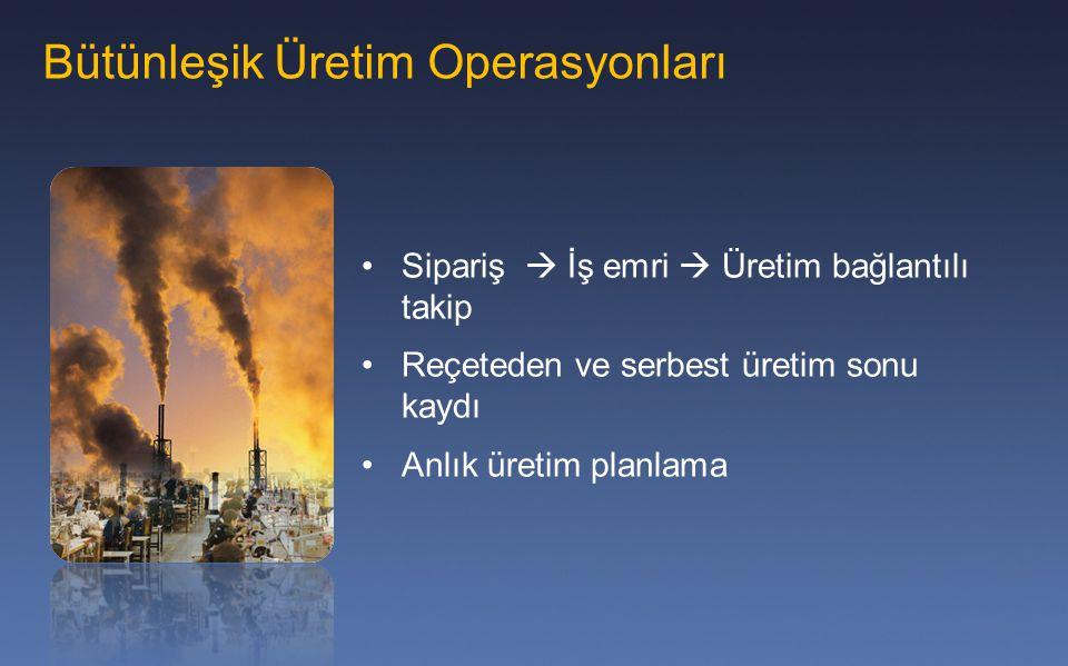 Bütünleşik Üretim Operasyonları