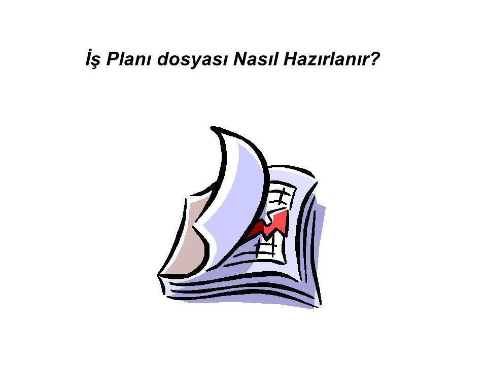 İş Planı dosyası Nasıl Hazırlanır
