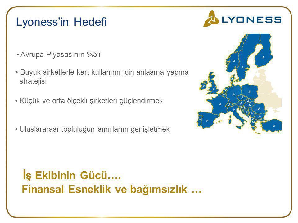 Lyoness'in Hedefi İş Ekibinin Gücü….