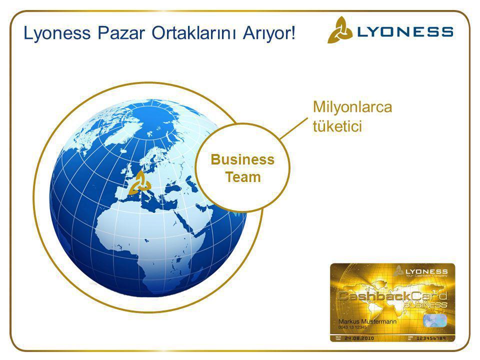 Lyoness Pazar Ortaklarını Arıyor!