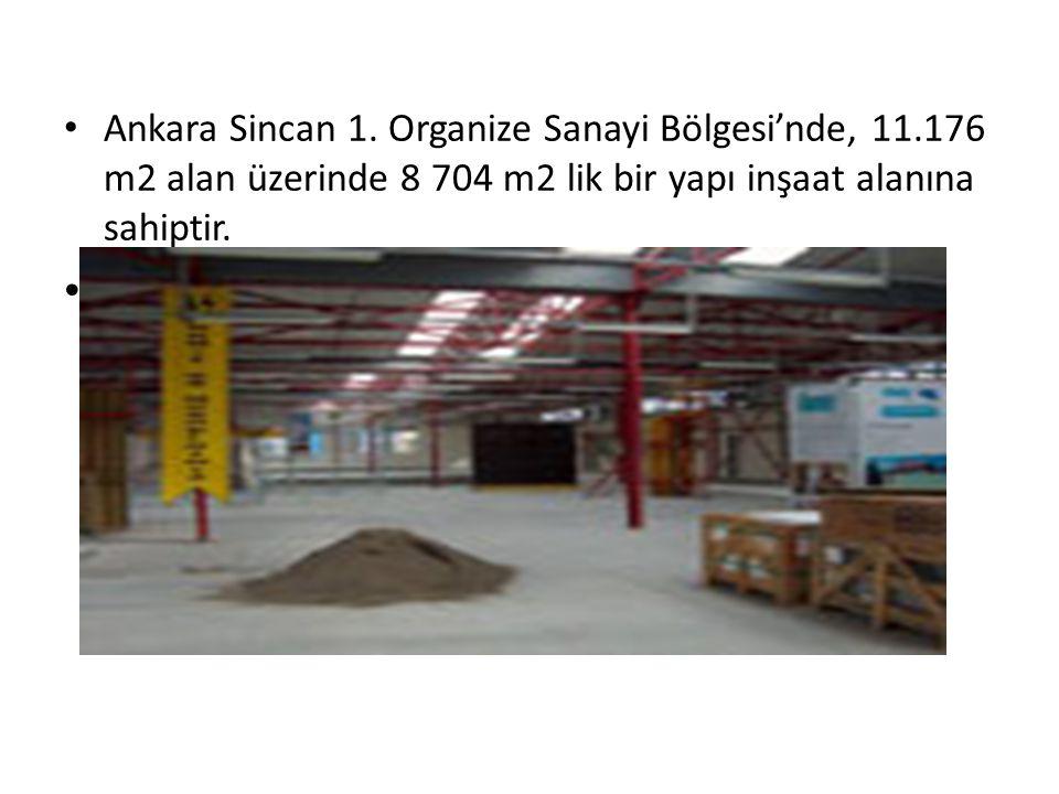 Ankara Sincan 1. Organize Sanayi Bölgesi'nde, 11