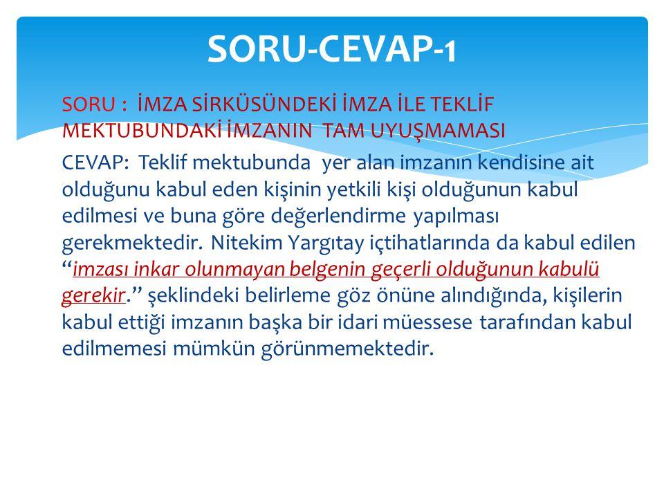 SORU-CEVAP-1
