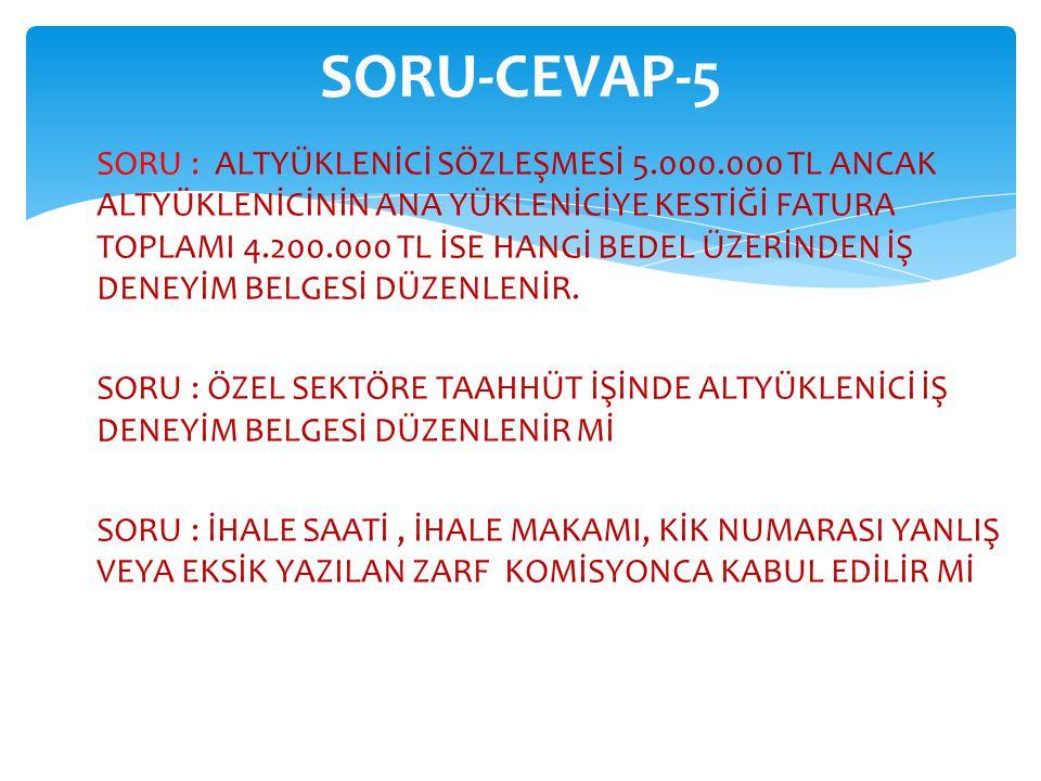 SORU-CEVAP-5