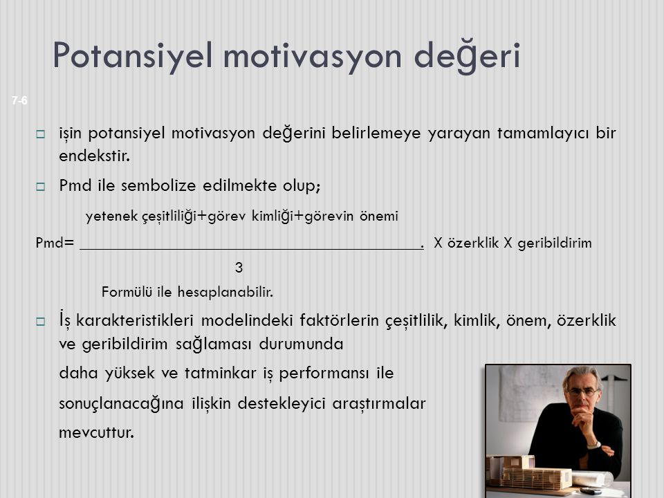Potansiyel motivasyon değeri