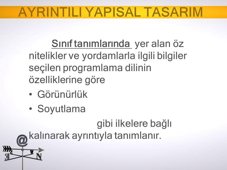 AYRINTILI YAPISAL TASARIM