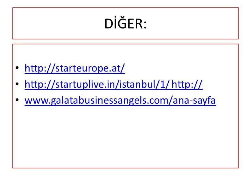 DİĞER: http://starteurope.at/