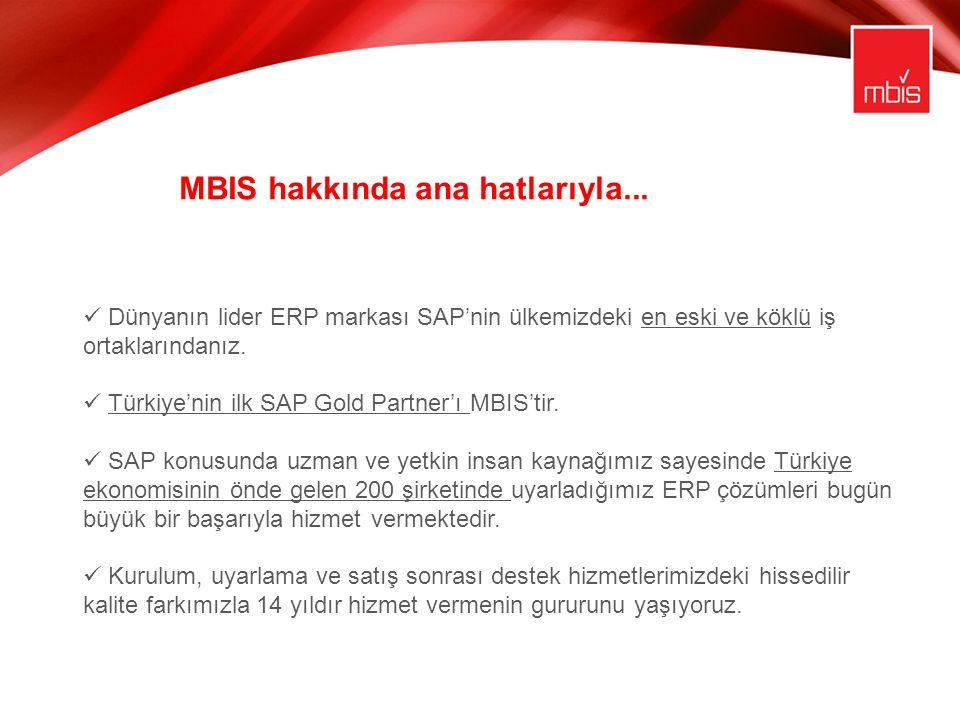 MBIS hakkında ana hatlarıyla...