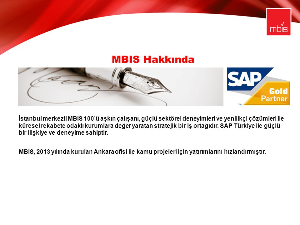 MBIS Hakkında