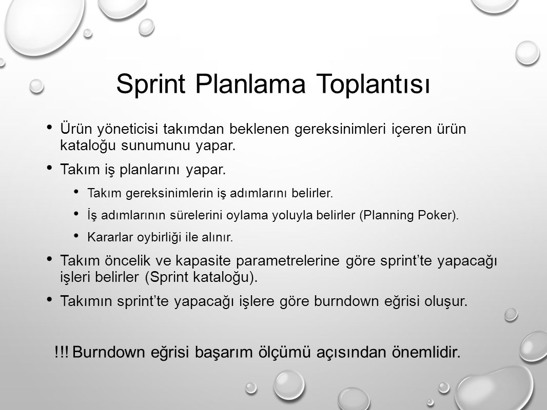 Sprint Planlama Toplantısı
