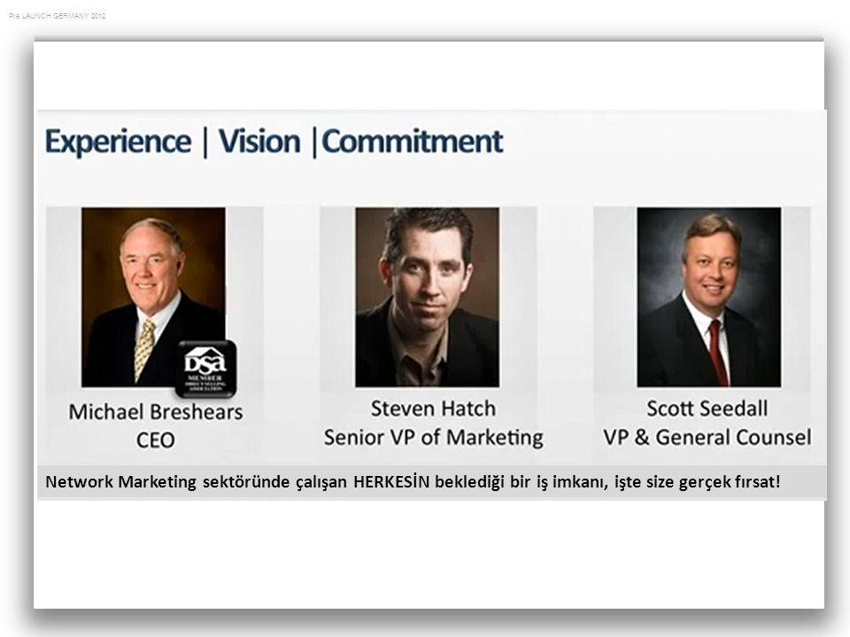 Network Marketing sektöründe çalışan HERKESİN beklediği bir iş imkanı, işte size gerçek fırsat!
