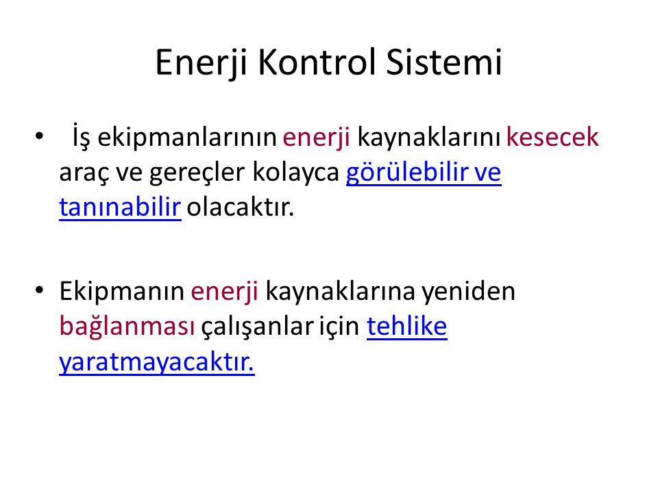 Enerji Kontrol Sistemi
