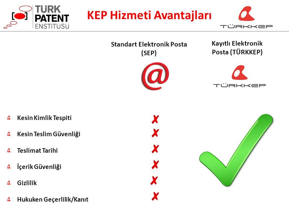 Standart Elektronik Posta Kayıtlı Elektronik Posta (TÜRKKEP)