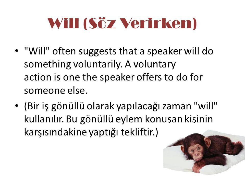 Will (Söz Verirken)