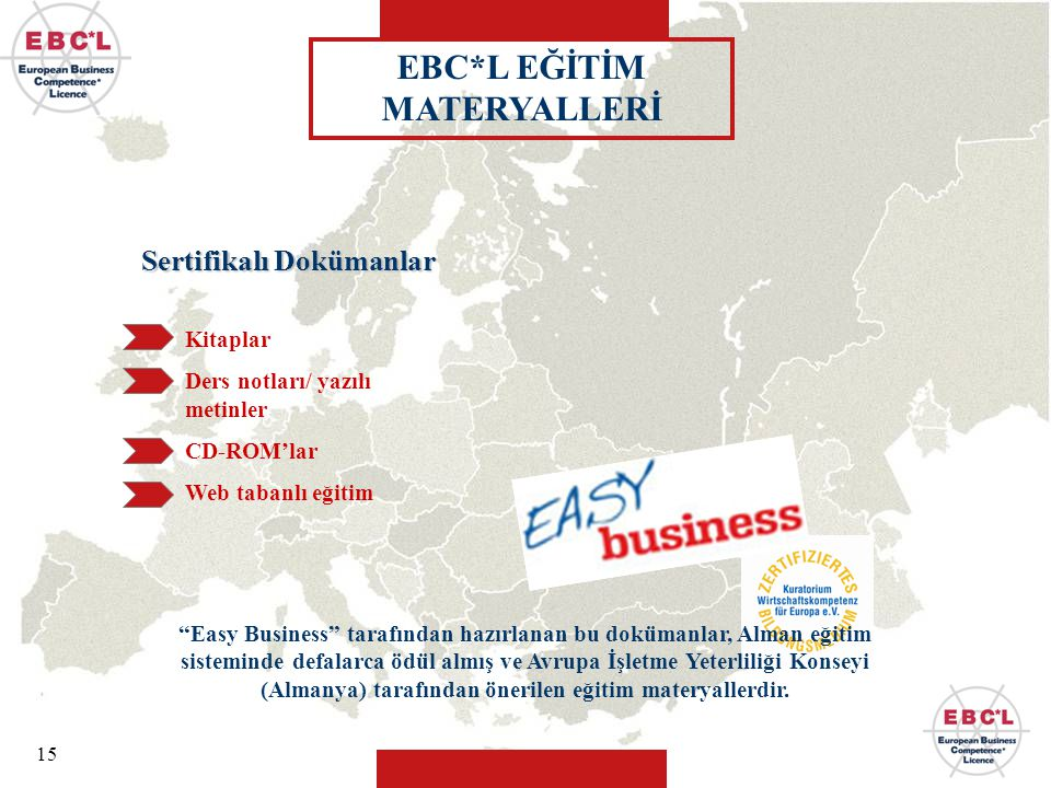 EBC*L EĞİTİM MATERYALLERİ