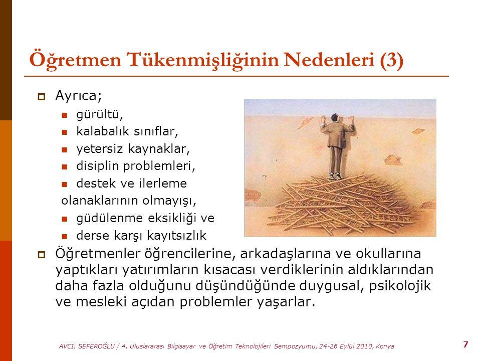 Öğretmen Tükenmişliğinin Nedenleri (3)
