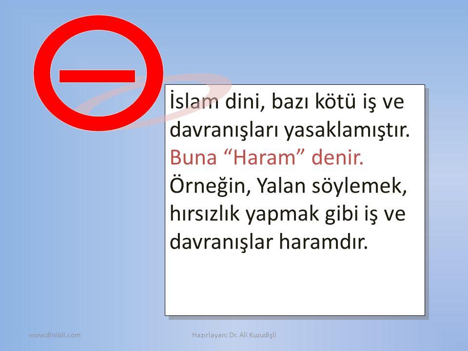 Hazırlayan: Dr. Ali Kuzudişli