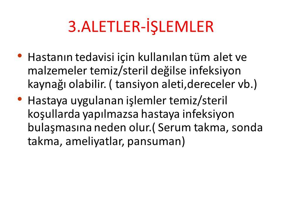 3.ALETLER-İŞLEMLER