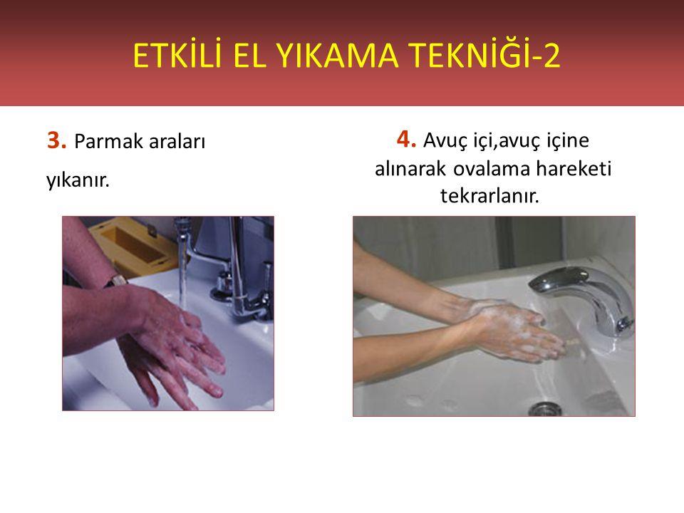 ETKİLİ EL YIKAMA TEKNİĞİ-2