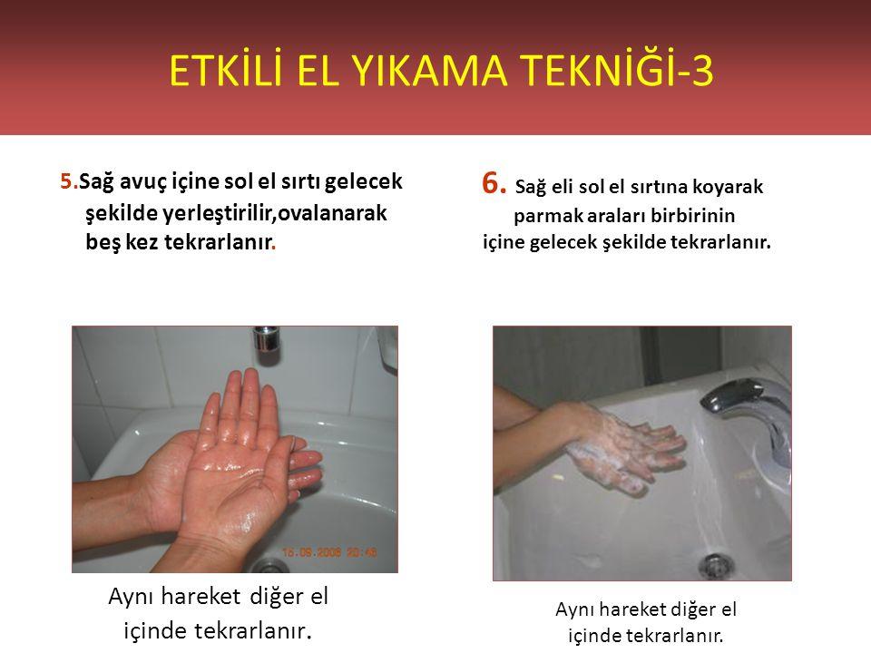 ETKİLİ EL YIKAMA TEKNİĞİ-3