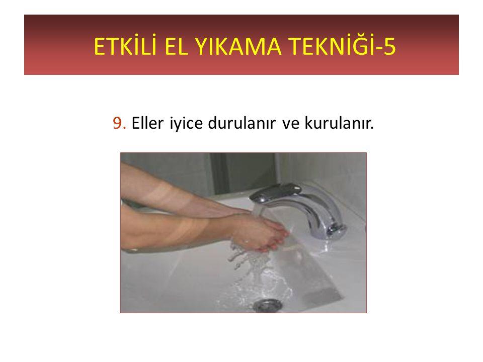 ETKİLİ EL YIKAMA TEKNİĞİ-5