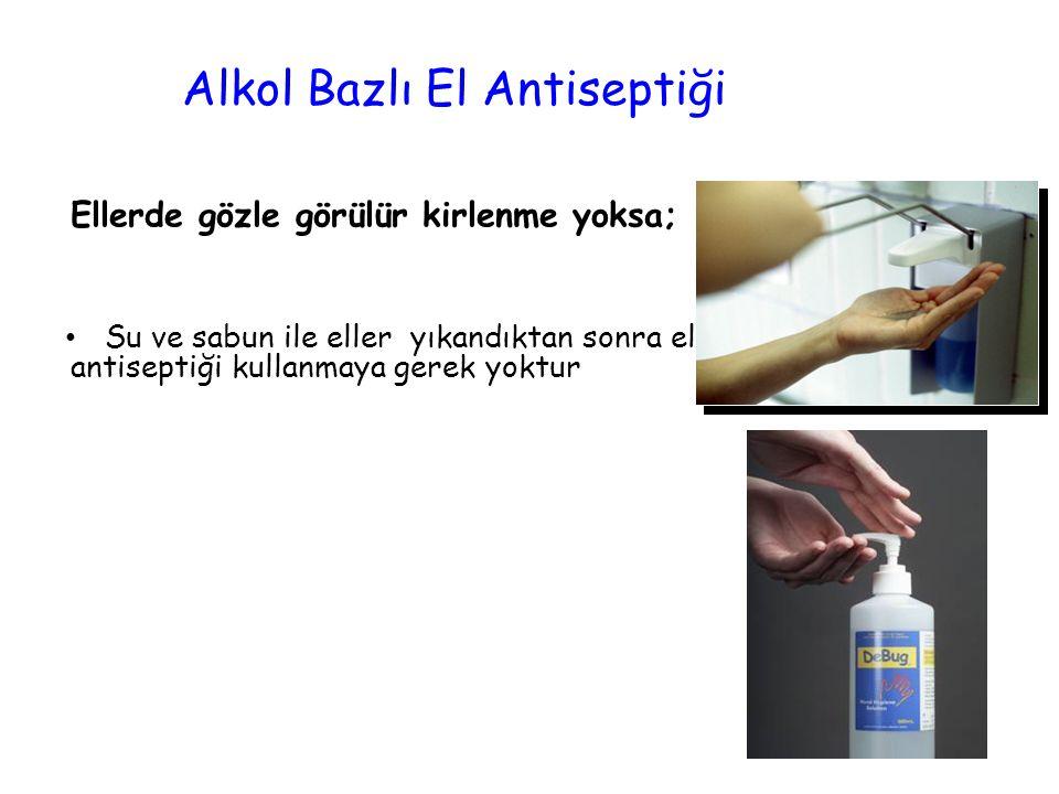 Alkol Bazlı El Antiseptiği