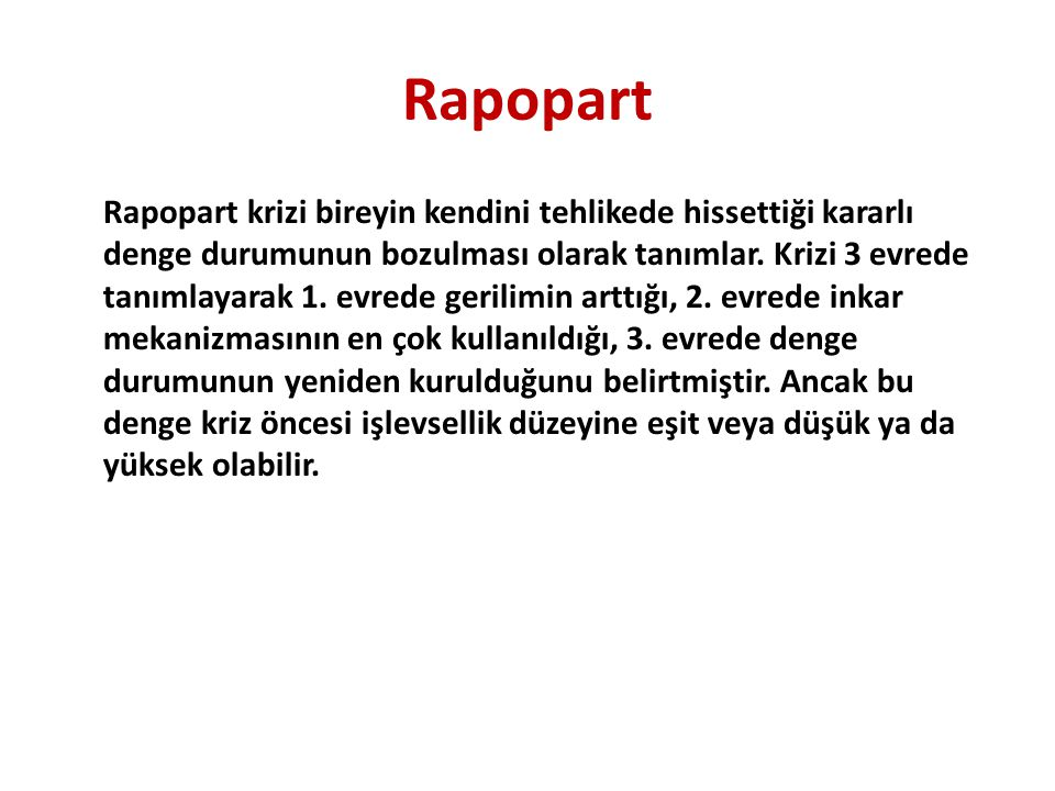 Rapopart