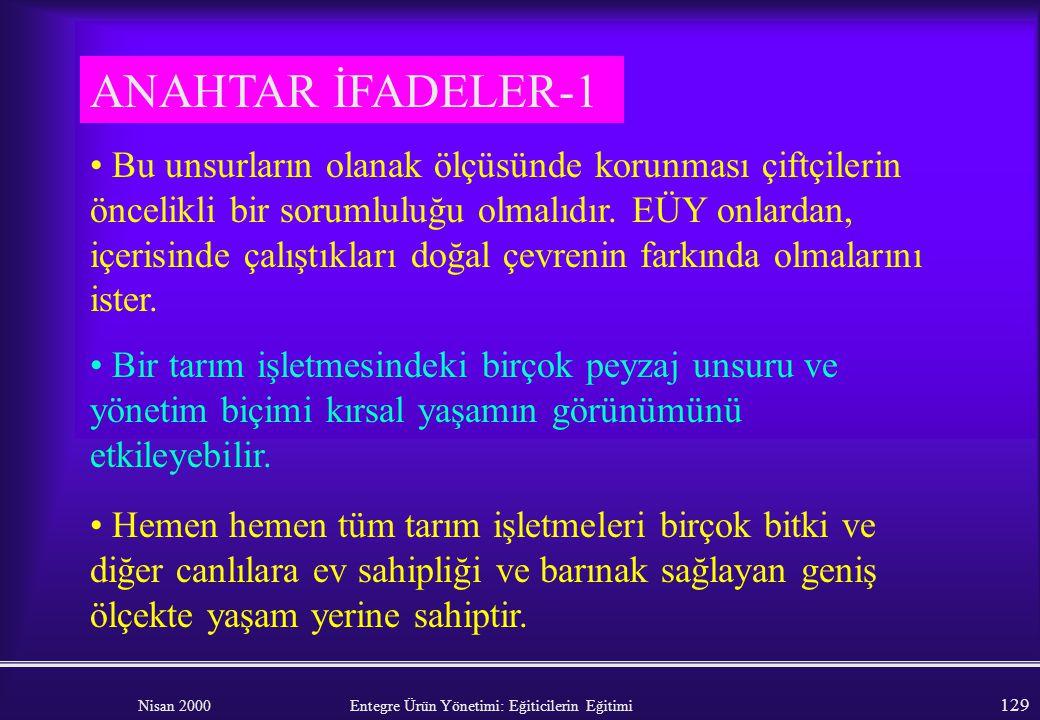 ANAHTAR İFADELER-1