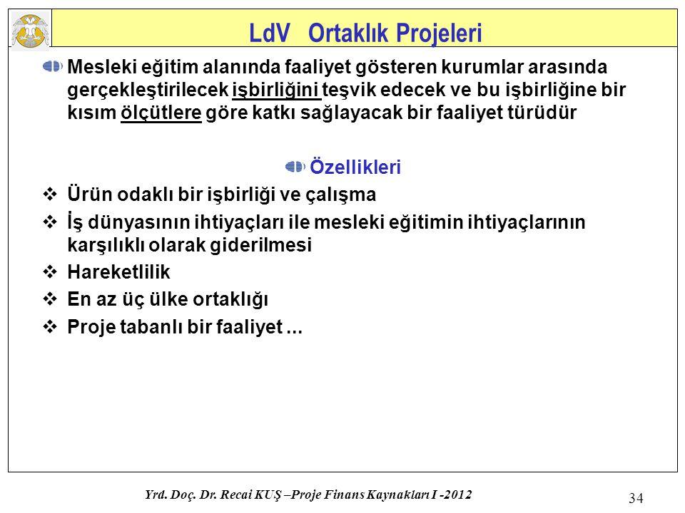 LdV Ortaklık Projeleri