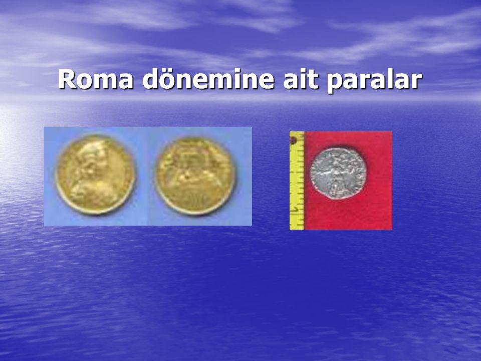 Roma dönemine ait paralar