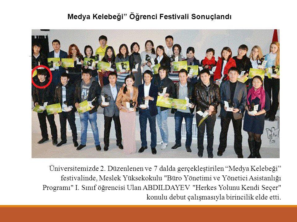 Medya Kelebeği Öğrenci Festivali Sonuçlandı