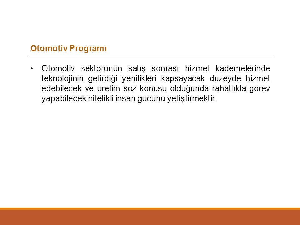 Otomotiv Programı