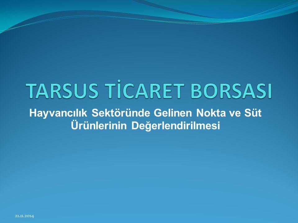 TARSUS TİCARET BORSASI