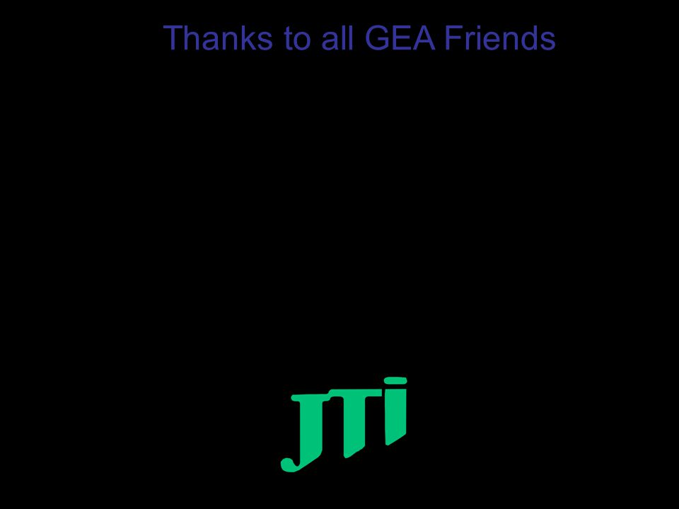 Thanks to all GEA Friends