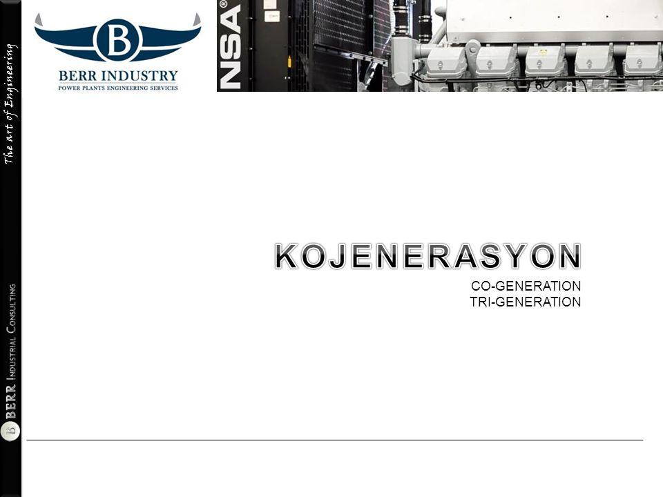 KOJENERASYON CO-GENERATION TRI-GENERATION